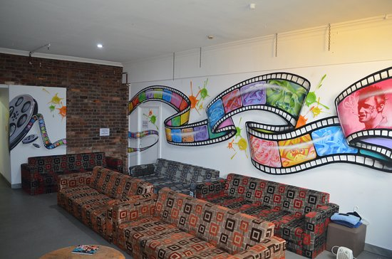 Collingwood, Australia: TV Lounge Room