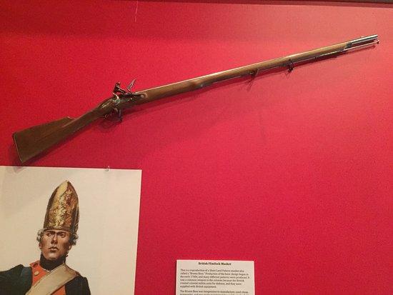 Revolutionary War - English 75 cal Brown Bess flintlock