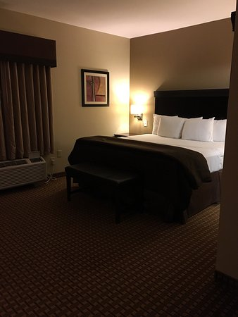 ฮิลส์โบโร, เท็กซัส: These are photos from one of their king size suite rooms.