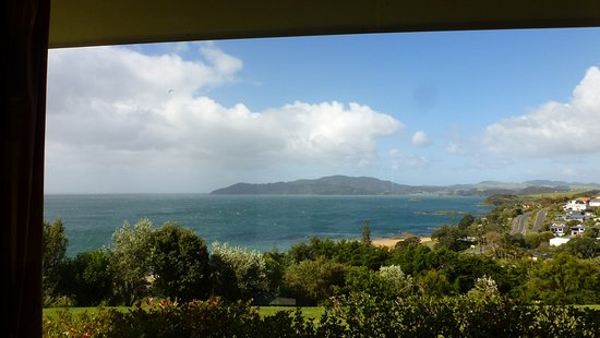 Cable Bay, New Zealand: From the bedroom this is your outlook!