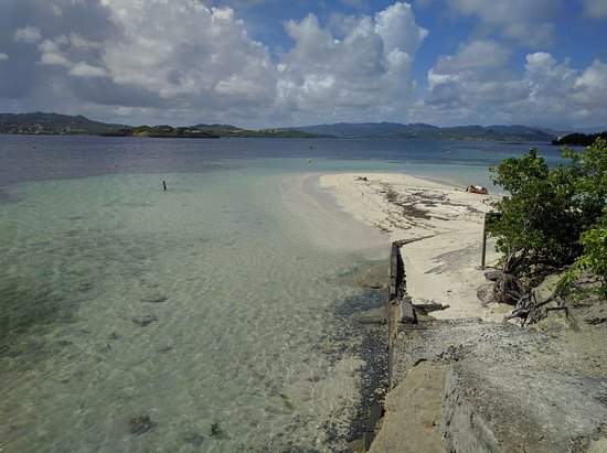 Le Francois, Martinik: It was our own private beach