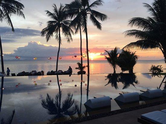 Lipa Noi, Thailand: Baan Kilee Sunset