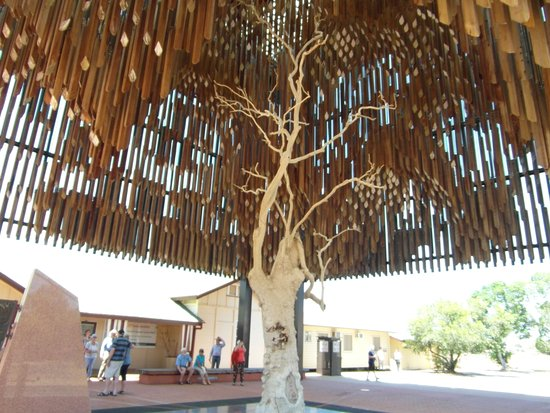 Tree of Knowledge Memorial: Eerie Lament