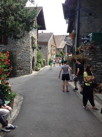 Yvoire, Francia: ruelle