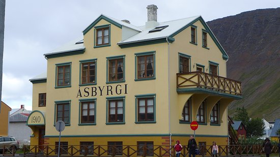 Old building in Isafjordur