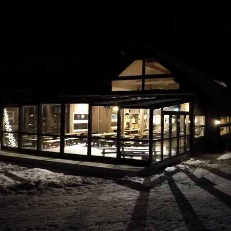 Geilo, Noruega: Den nye vinterhagen - The new winter garden