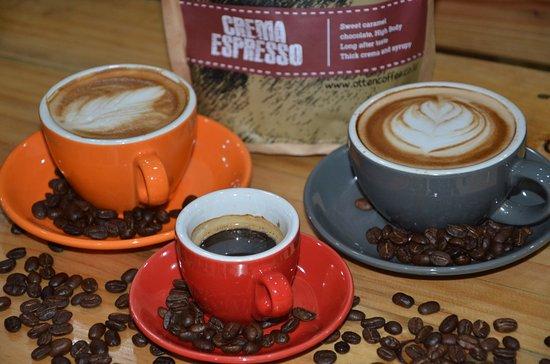 Cilegon, Indonesia: coffee latte
