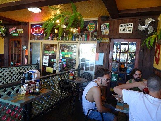 Outside The Restaurant Picture Of Dancing Avocado Kitchen Dak Daytona Beach Tripadvisor