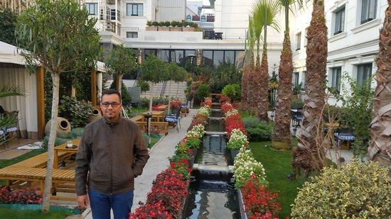 Hagia Sophia Hotel Istanbul Old City: Jardin