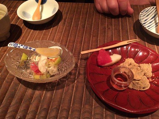 Shokkan: dessert