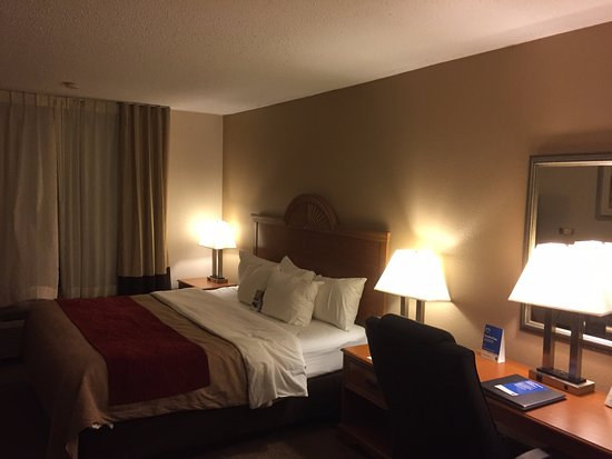 Comfort Inn Beckley: initial view seems O.K.