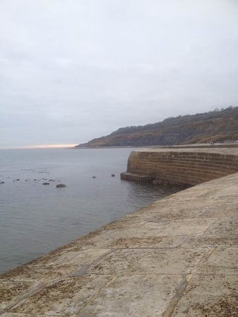 Lyme Regis, UK : The Cobb