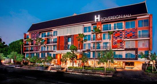 h sovereign hotel kuta indonesia review hotel perbandingan rh tripadvisor co id Pemuteran Bali hotel di jl raya tuban bali