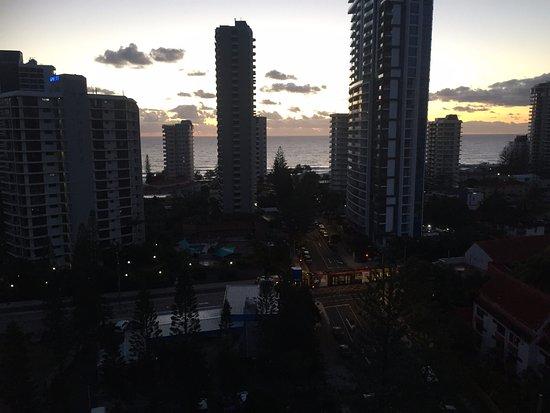 Anacapri Holiday Resort Apartments: View from bedroom balcony