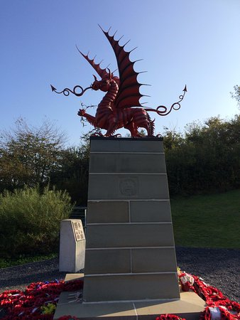 Miraumont, Francja: Welsh Memorial Mametz Wood