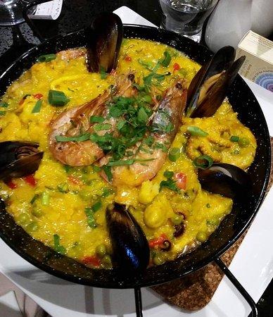 Tullamarine, Australia: Seafood Paella