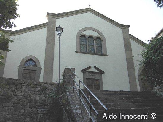 Greve in Chianti, Włochy: Chiesa di Santo Stefano a Montefioralle: facciata
