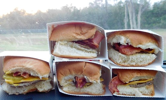 Brunswick, GA: Bacon Cheeseburgers