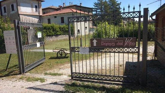 Sant'Angelo in Vado, Italia: Ingresso