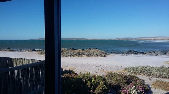 Paternoster, Sydafrika: View from the Dining Area/Kitchen