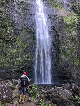 Lawai, Hawái: Hanakapi'ai Falls, Napali Coast