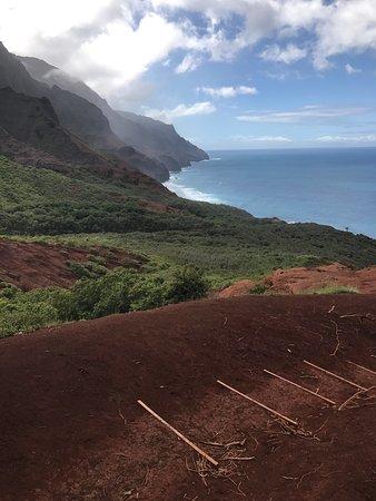 Lawai, Hawaje: Kalalau Trail, Napali Coast