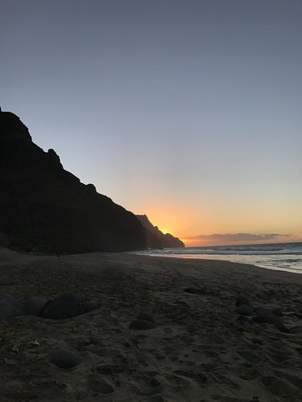 Lawai, Hawaje: Kalalau Beach, Napali Coast