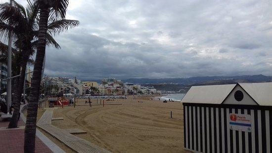 Playa de Las Canteras: beach