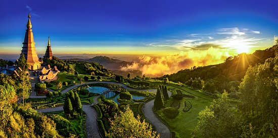 Doi Inthanon National Park, Thailand: Sunset