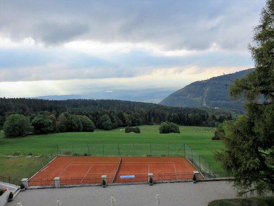 Sainte-Croix, İsviçre: View from room #67