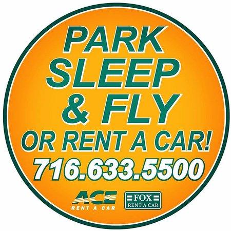 Cheektowaga, NY: Park Sleep & Fly or Rent a Car