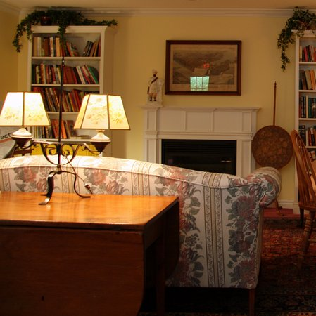 Blairpen House Country Inn: Library