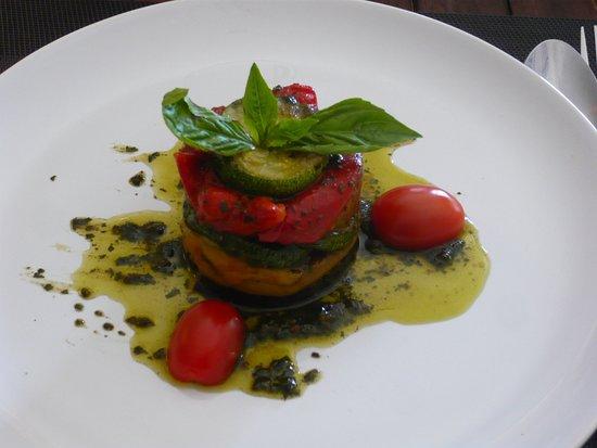 Puccini Italian Restaurant: ズッキーニ・パプリカ他の前菜