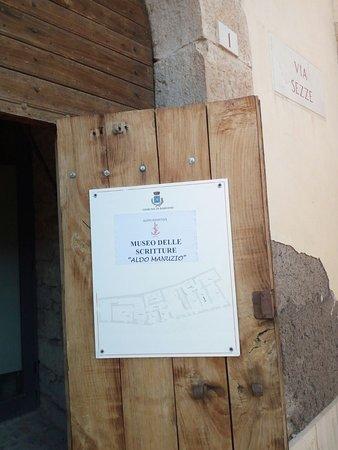 Bassiano, อิตาลี: Museo delle scritture Aldo Manuzio