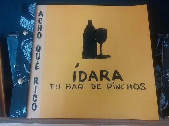 IDARA, Tu Bar de Pinchos: Nuestra nueva carta, ven a probarla!!!