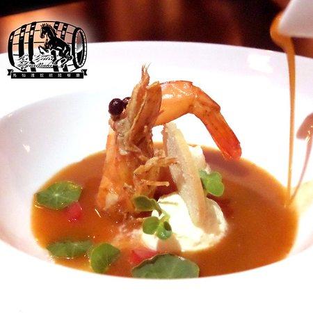 le bistro marcellinho christmas menu special prawn bisque soup