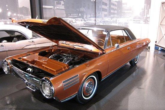 The National Museum Of Transportation Chrysler Turbine Car