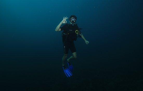 Bouillante, Guadalupe: underwater OK