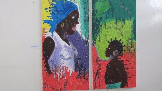 Brazzaville, Cộng hòa Congo: art exhibit