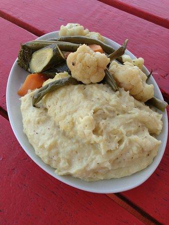 Good food near the beach