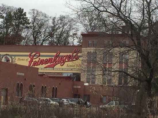 Chippewa Falls, WI: The original brewery building.