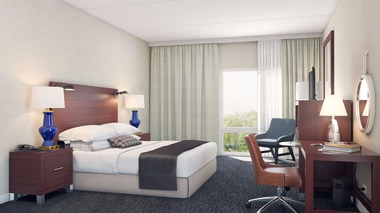 Wyndham Hamilton Park Hotel and Conference Center: Renovated Guest Room