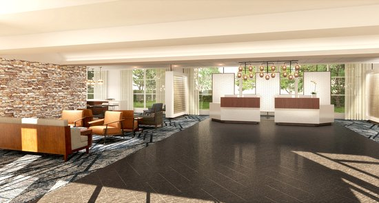 Wyndham Hamilton Park Hotel and Conference Center : Front Desk View