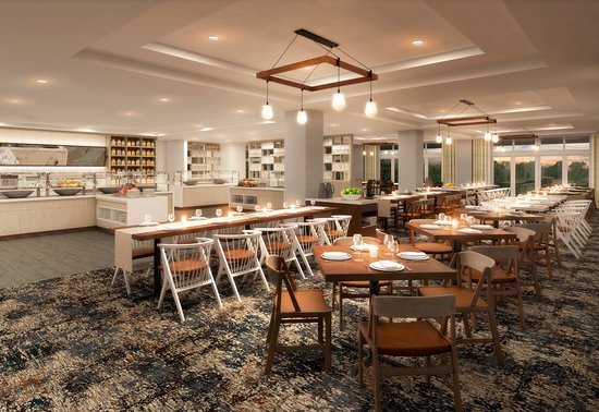 Wyndham Hamilton Park Hotel and Conference Center : Restaurant Interior