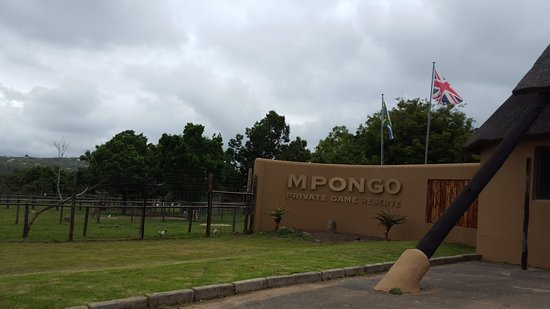 Mpongo Private Game Reserve: Front Entrance