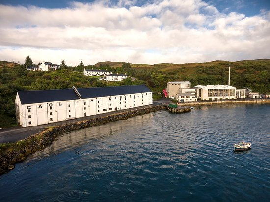 Port Askaig, UK : Caol Ila Distillery Landscape