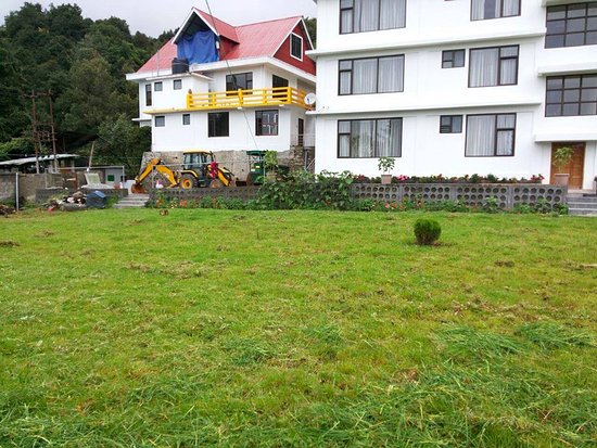 Clean Backyard backyard. clean and warm rooms - picture of hotel yangzom, tawang