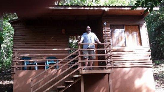 Santa Cruz, Costa Rica: Cabin #7 Exterior (con Miguel)