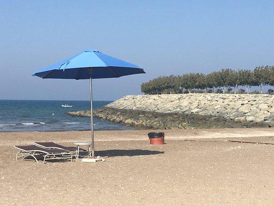 Al Mussanah, Oman: Tranquillità in spiaggia