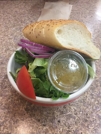Danbury, CT: Side salad